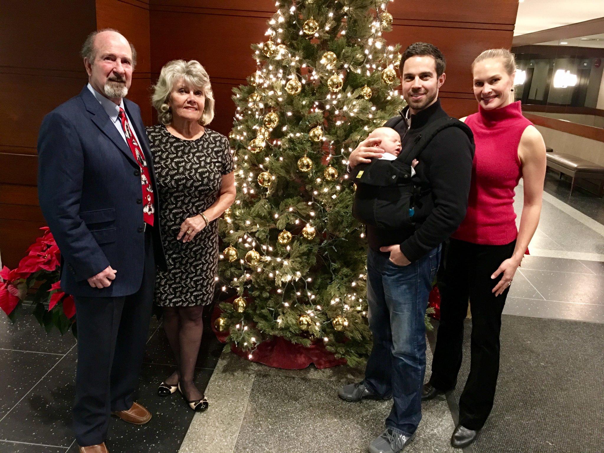 Brett Hickey Family Christmas